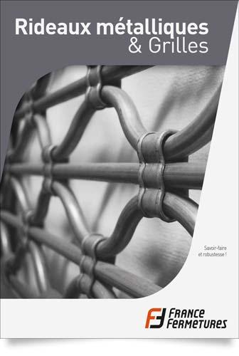 catalogue rideaux metalliques et grilles Roissy en France