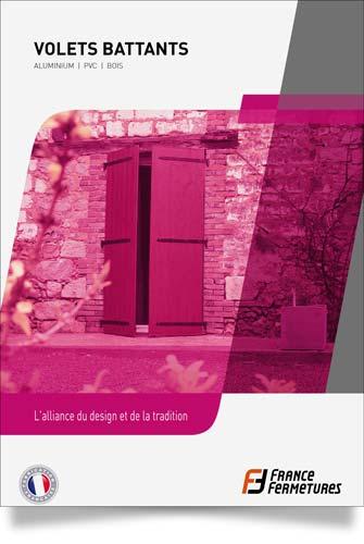 catalogue volets battants alu pvc bois Sevran